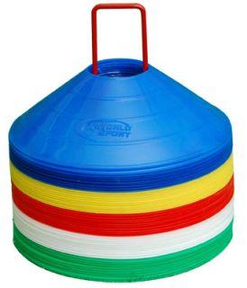 Disc Cones Soccer Football Lacrosse Sport Coaching Field Marking
