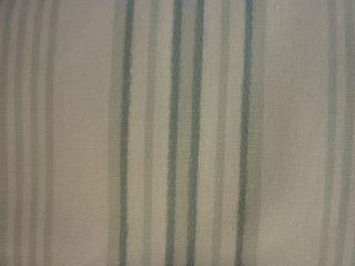 Fieldcrest Blue and Green Casual Stripe Shower Curtain NIP