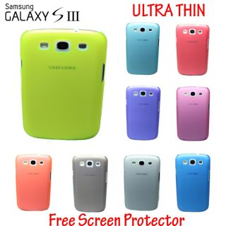Ultra Thin 0 5mm Hard Back Case Cover Fits Samsung Galaxy S3 i9300