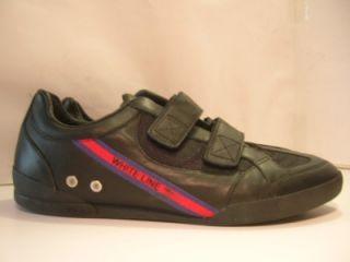 Fila White Line High Class Black Mens Tennis Sneakers Shoes $90