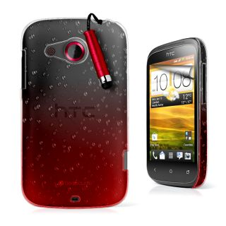 Drop Design Hard Case Cover for HTC Desirec Desire C Film Stylu