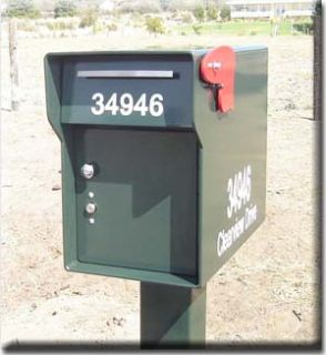 FORT KNOX MAILBOX   SLAM LOCK High Security Lock