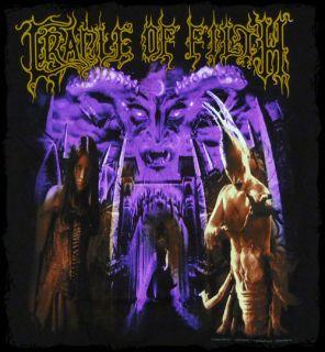 Cradle of Filth Midian Tortured Soul Asylum T Shirt Official Fast SHIP