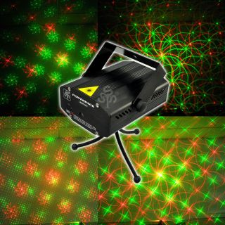 Mini Portable Projector Laser Stage Light Lighting Disco DJ Xmas Party