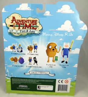 Adventure Time Finn and Jake Strechy Jake W/ Stretch Arms Action