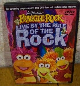 Fraggle Rock Live by The Rule of The Rock DVD 2004