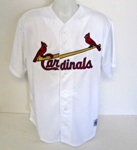 LaRussa Signed St. Louis Cardinals Majestic Jersey 2011 WS Champs JSA