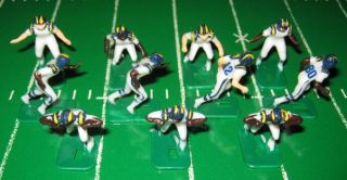 TUDOR ELECTRIC FOOTBALL GAME San Diego Chargers Team White HK81