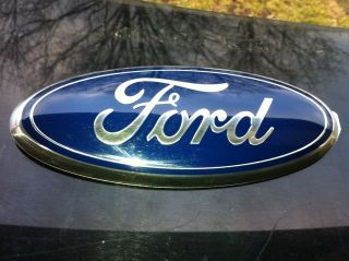 Ford Edge Oval Grill Tailgate EmblemBadgeOEM Replacement 9 Peel