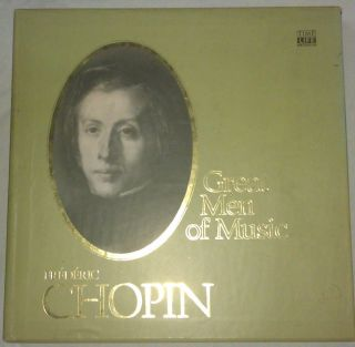 Time Life records Great Men Of Music Frederic Chopin 4LP Box