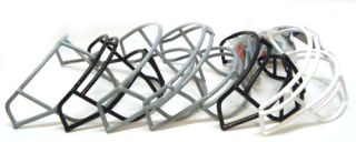 x6 football helmet face guards mask schutt black gray white