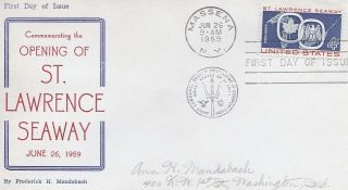 1131 4c St Lawrence Seaway RARE Frederick Mandabach