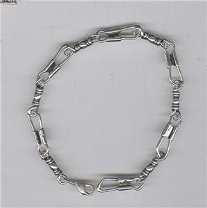 James Avery Sterling Silver Fishers of Men Bracelet 8 Long