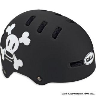 Bell Bicycle Helmet Fraction Paul Frank Black White Skull Size XSmall