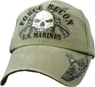 usmc marine corps marines force recon cotton hat cap