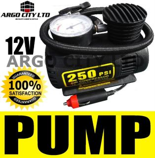 12V Air Pump Tyre Inflator Compressor 250 PSI Ford Puma Coupe