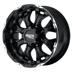 20 inch Black Wheels Rims FORD f250 f350 Moto Metal 959 8 lug 1999