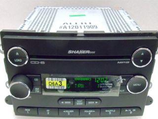 Ford Mustang Sirius Satellite Radio 6 Disc  CD Changer Player