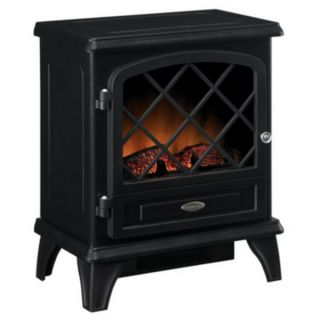 New 1350 Watt Freestanding Electric Stove Heating Fireplace Heater w
