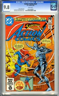 . Curt Swan and Frank Chiaramont art. Rich Buckler and Dick Giordano