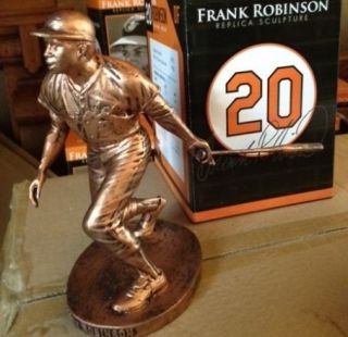 Frank Robinson Baltimore Orioles Bronze Statue Figurine Sculpture New