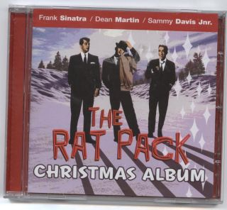 FRANK SINTRA DEAN MARTIN SAMMY DAVIS JNR THE RAT PACK CHRISTMAS ALBUM