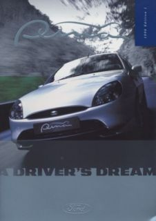 1998 Ford Puma Dealer Sales Brochure Book UK England