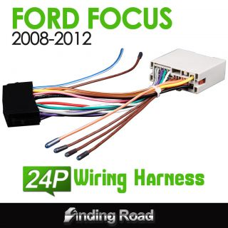 A0561 Ford Focus 2008 2012 Car Stereo ISO Audio Wiring Wire Harness