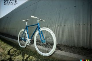 State Bicycle Co Fixed Gear Bike Tsunami Fixie Free Shipping