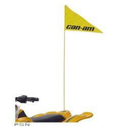 Can Am Bombardier ATV Flag Holder Mount Bracket Sand Dunes Trail