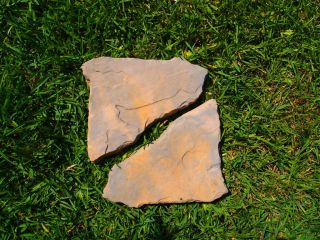 Flagstone ABS Plastic Mold Molds Concrete Cement Patio Walkway
