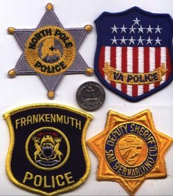 Michigan Police Patch Frankenmuth Christmas Xmas City