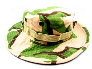 Hat Camouflage Camo Camping Fishing Hiking Wide Brim Forrest