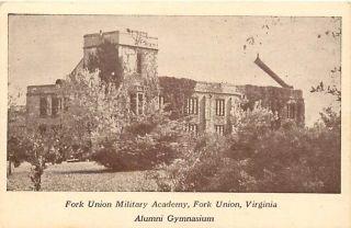 VA Fork Union Military Academy Alumni Gymnasium R27873
