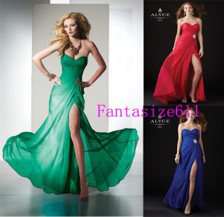 New Formal Evening Gown Party Prom Ball Bridesmaid Dress Size 6 8 10