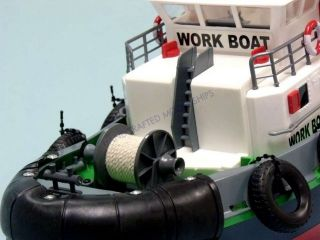 Harbor Tugboat 24 Remote Control Model Yacht New
