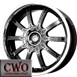 17 Black Falken LX 10 Wheels Rims 5x100 5x114 3 5 Lug
