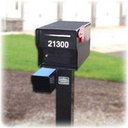 Fort Knox Locking Heavy Duty Rural Mailbox 1 4 Steel