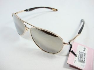 Foster Grant Unisex Gold Aviator Sunglasses Madonna GLD EG1110 New