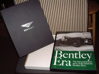 HARD BOUND BOOK BY NICHOLAS FOULKES THE BENTLEY ERA NEW IN FACTORY BOX