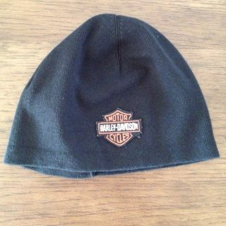 Toddler Youth Harley Davidson Beanie Hat