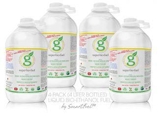 bio fuel ethanol fuel alternative 4 pack 4 liter bottles