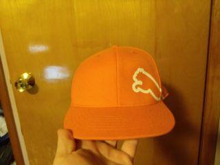 Puma Monoline Rickie Fowler Hat Orange Large XL Golf