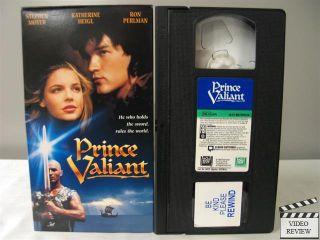 Prince Valiant VHS Stephen Moyer Katherine Heigl Ron Perlman