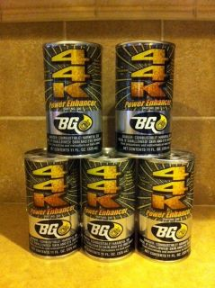 BG 44K Fuel System Cleaner Power Enhancer 5 Cans