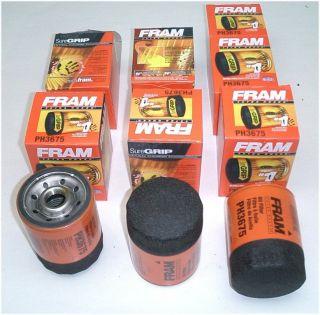 FRAM Oil Filters Chevrolet Silverado Suburban Tahoe Trailblazer