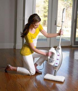 Lift Away Professional Steam Pocket Mop Two Head Steamer Floor Cleaner