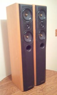 Mission Floor Standing Speakers Model 774