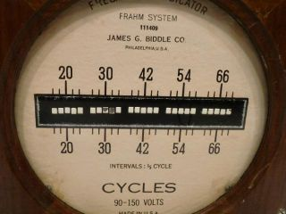 indiana strings frahm system james g biddle co frequency indicator