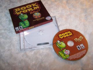 2005 Book Worm Deluxe PC CD ROM Pop Cap Games Full Version Mint